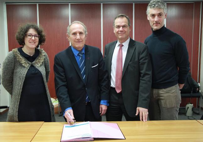 Première adhésion à la Charte «Objectif zéro phyto en Seine Centrale Urbaine» - Signature par la Ville de Nanterre