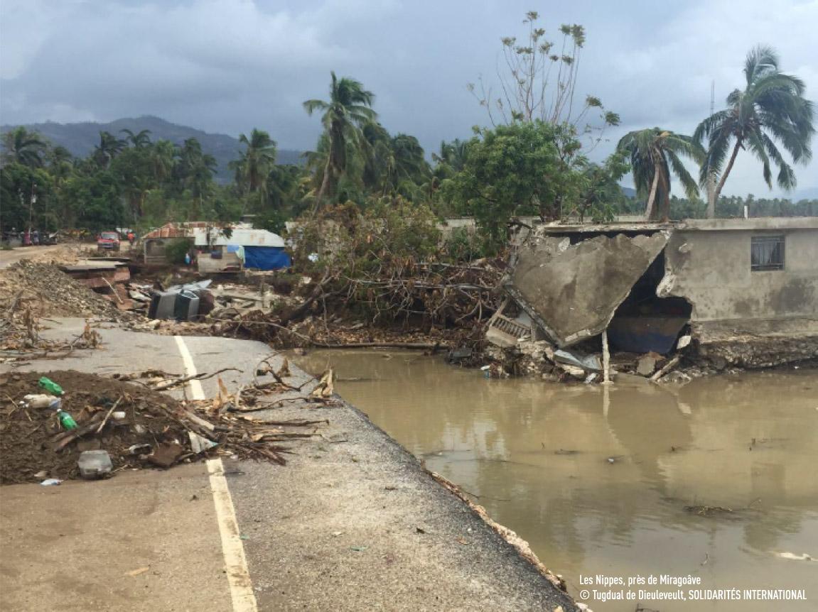 Aide d'urgence à Haïti