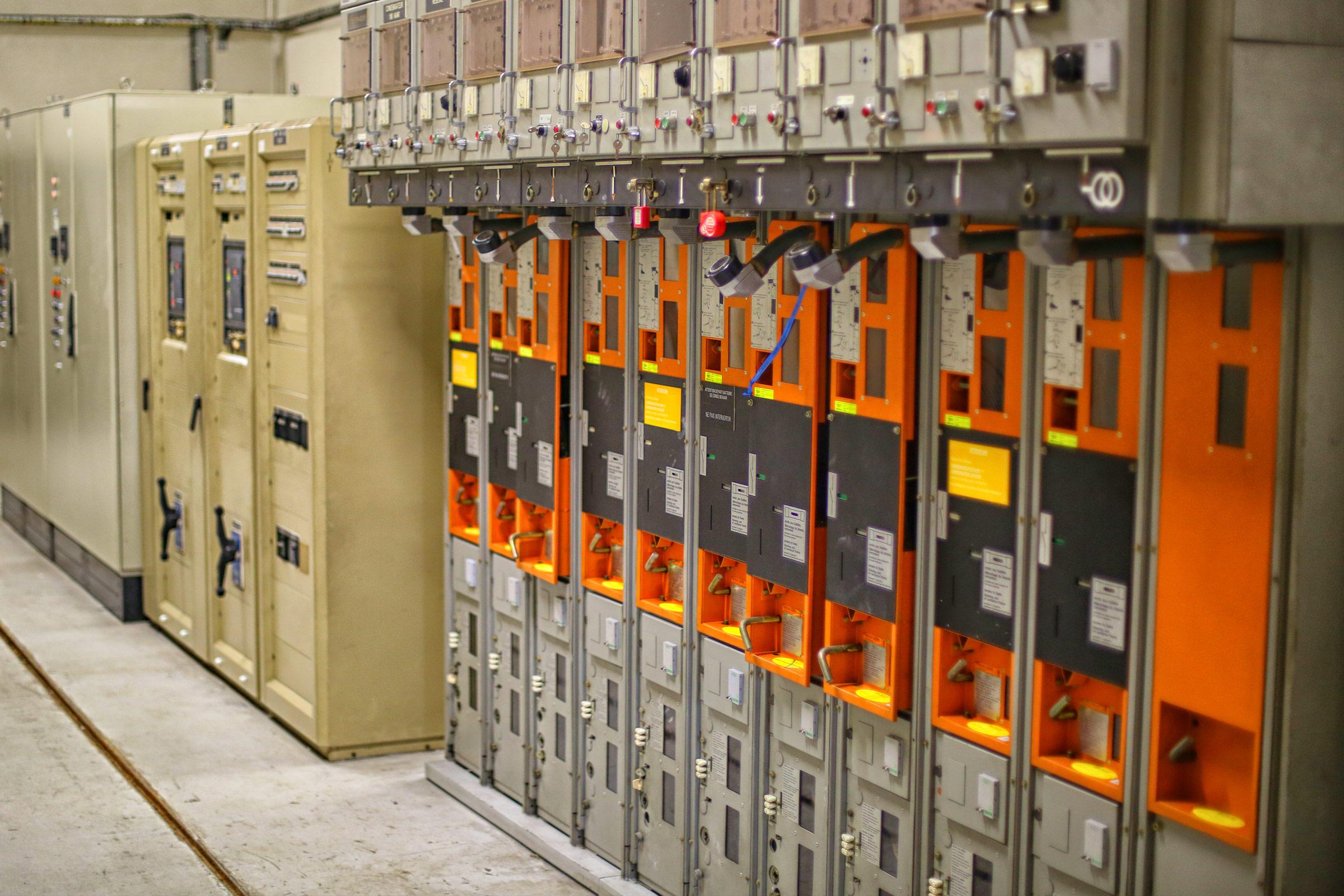 Les différents équipements de gestion de la station de pompage