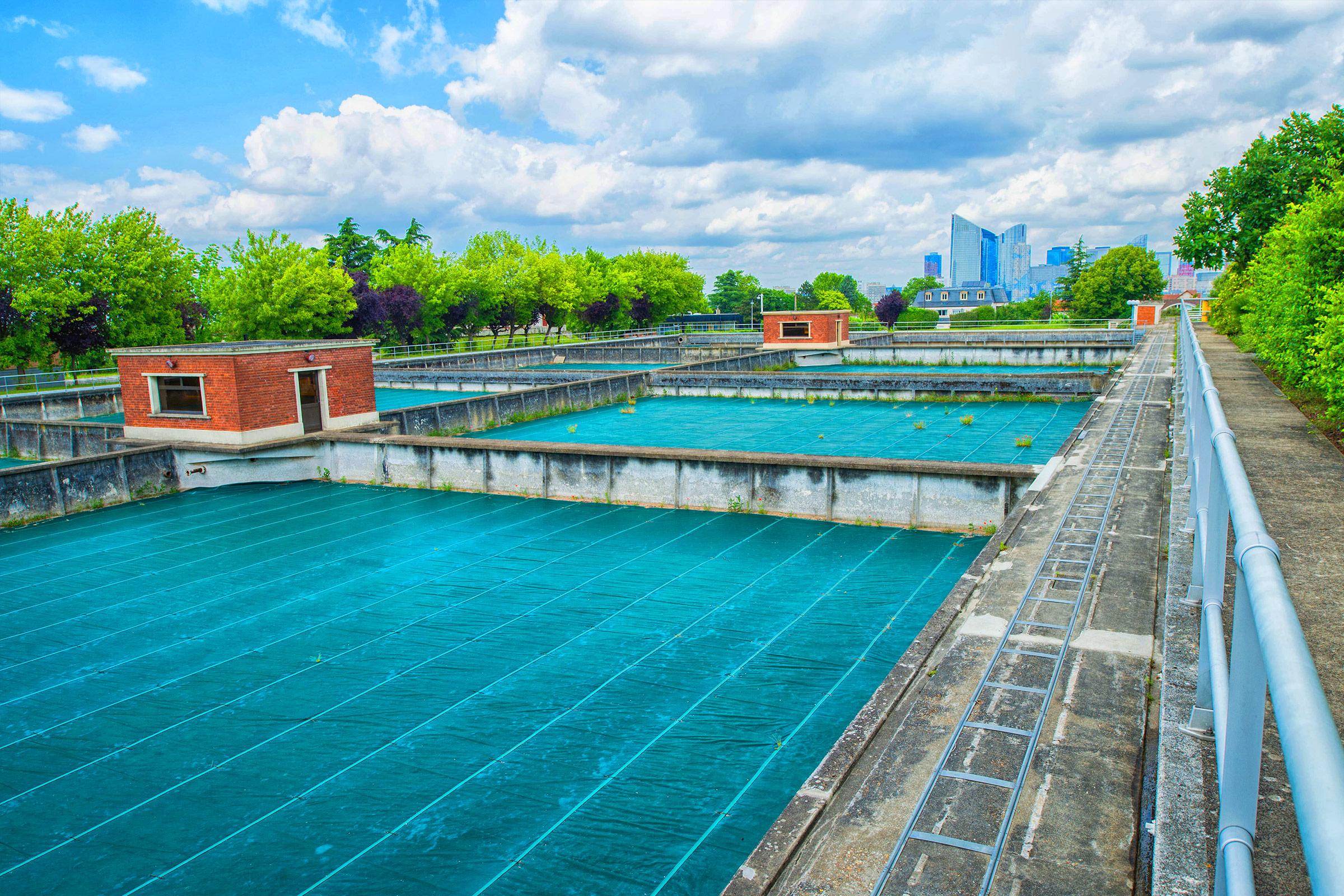Bassins et réservoirs de traitement