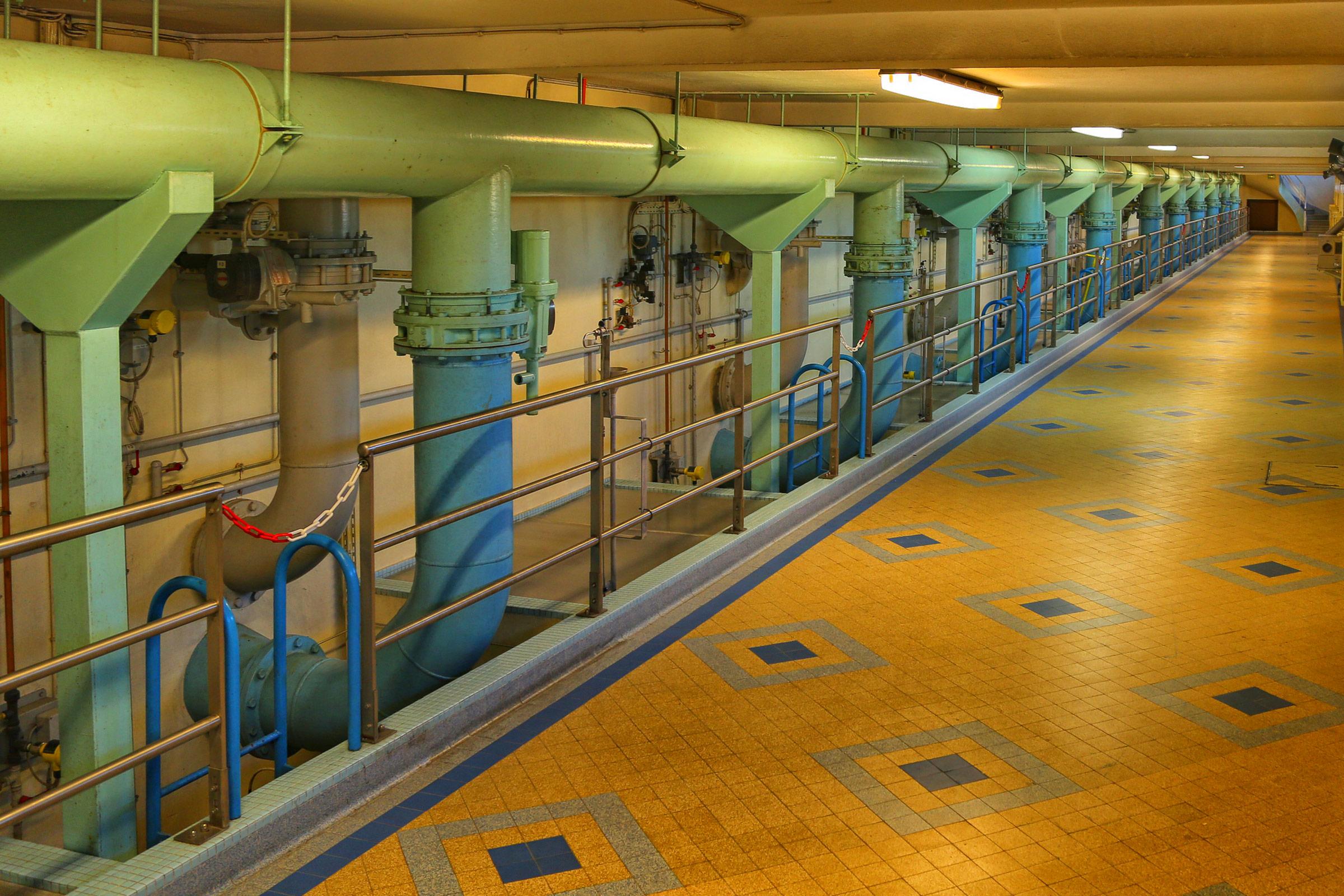 Différents traitements afin de potabiliser l'eau et de la contrôler