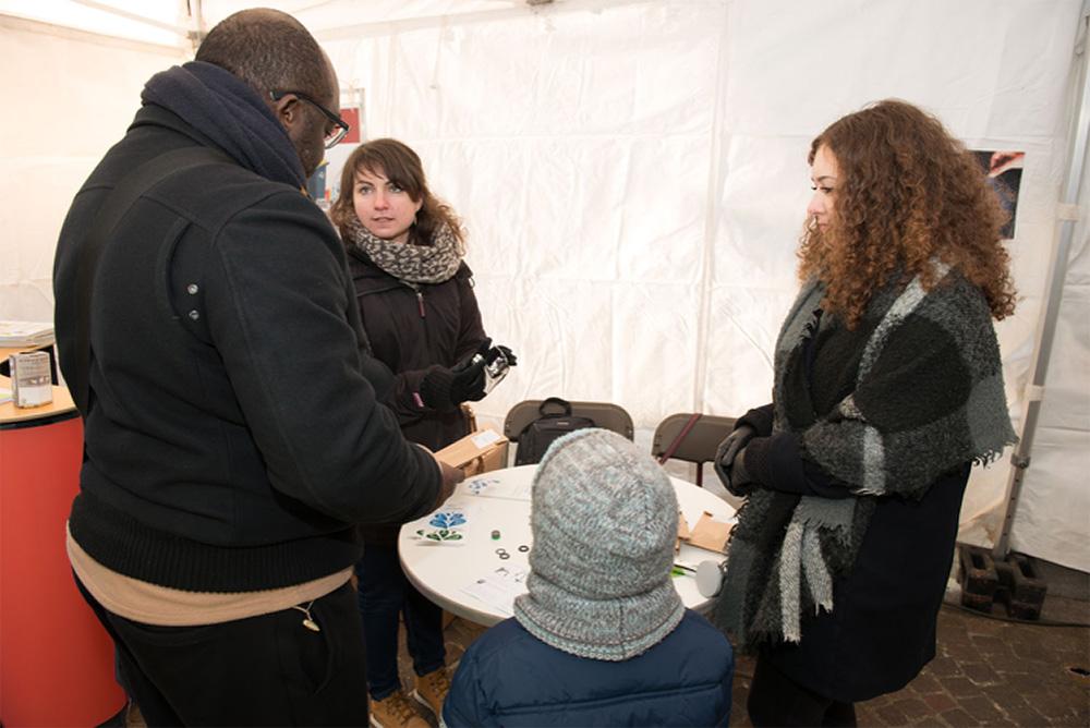 Action de solidarité à Rueil-Malmaison
