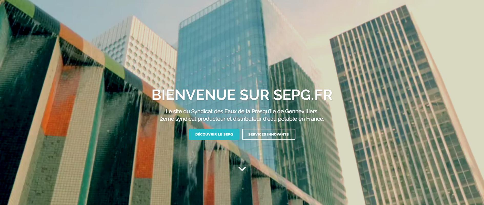 Le Syndicat des Eaux de la Presqu'île de Gennevilliers (SEPG) structure sa stratégie digitale