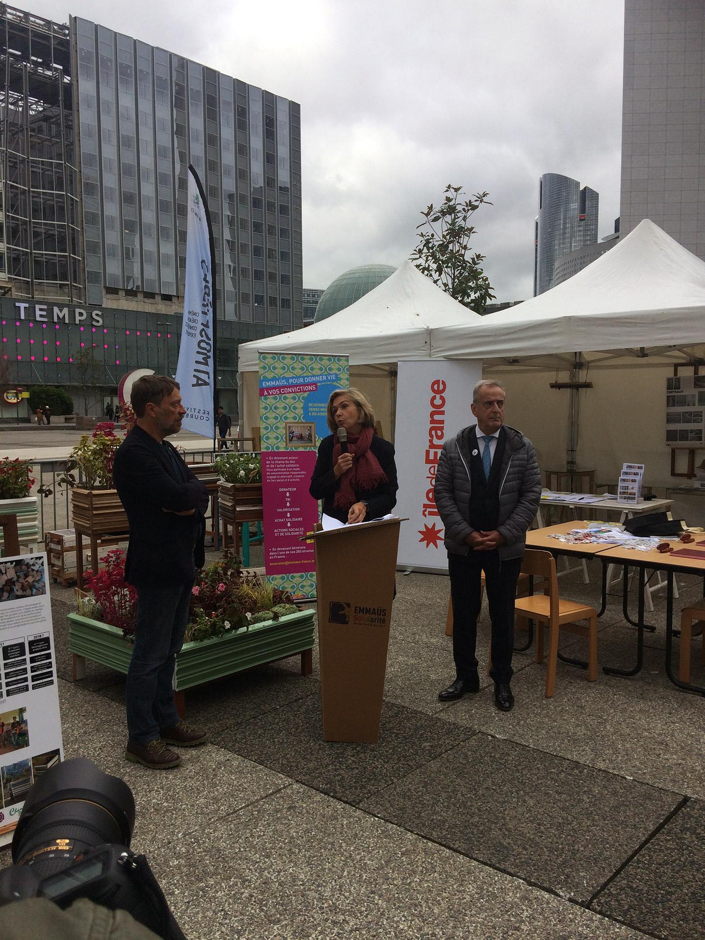 Participation du SEPG à la 7ème édition du festival Atmosphères Du 10 au 15 octobre 2017 à la Défense et Courbevoie
