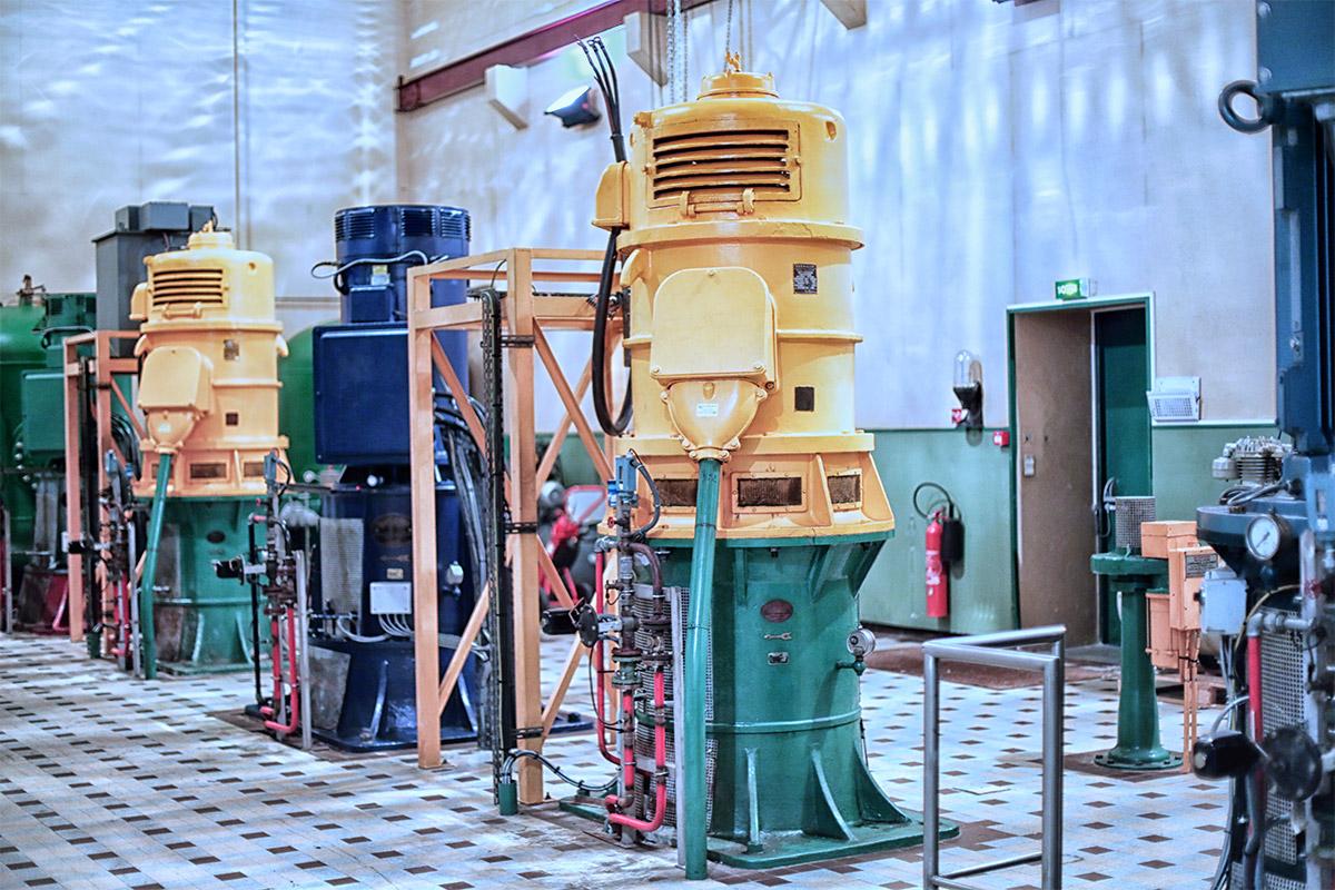 Pompage usine Pagès