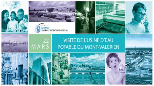 Visite de l'usine de production d'eau potable du Mont Valérien