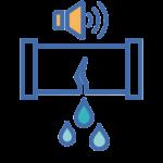 1500 capteurs acoustiques de détection des fuites