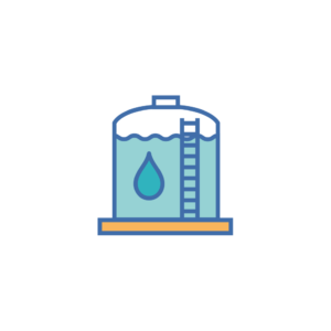 stockage de l'eau