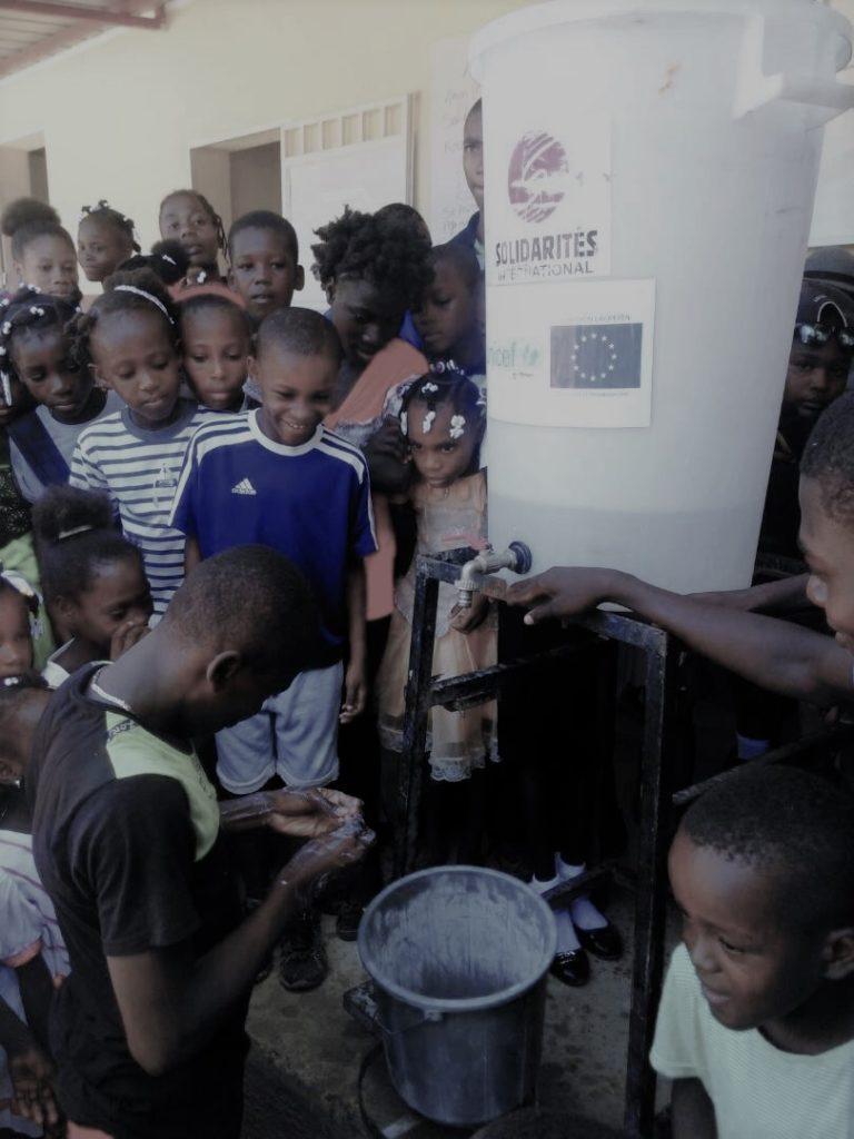 Aide en Haïti - Réduction des maladies hydriques
