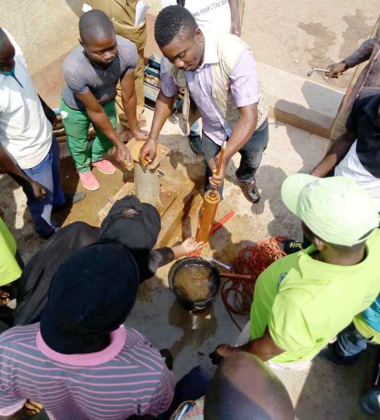 CMR_GRB_Formation pratique des artisans réparateurs des forages_Février 2020_Daniel Brice ANGOULA
