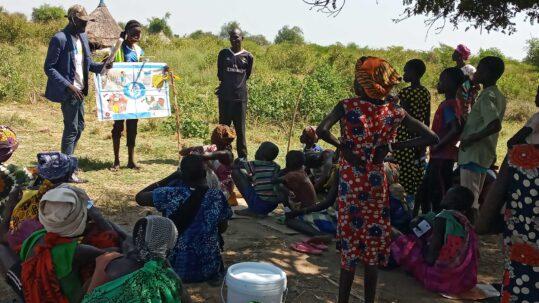 Accès d'urgence à l'eau potable aux populations touchées par les inondations au Soudan
