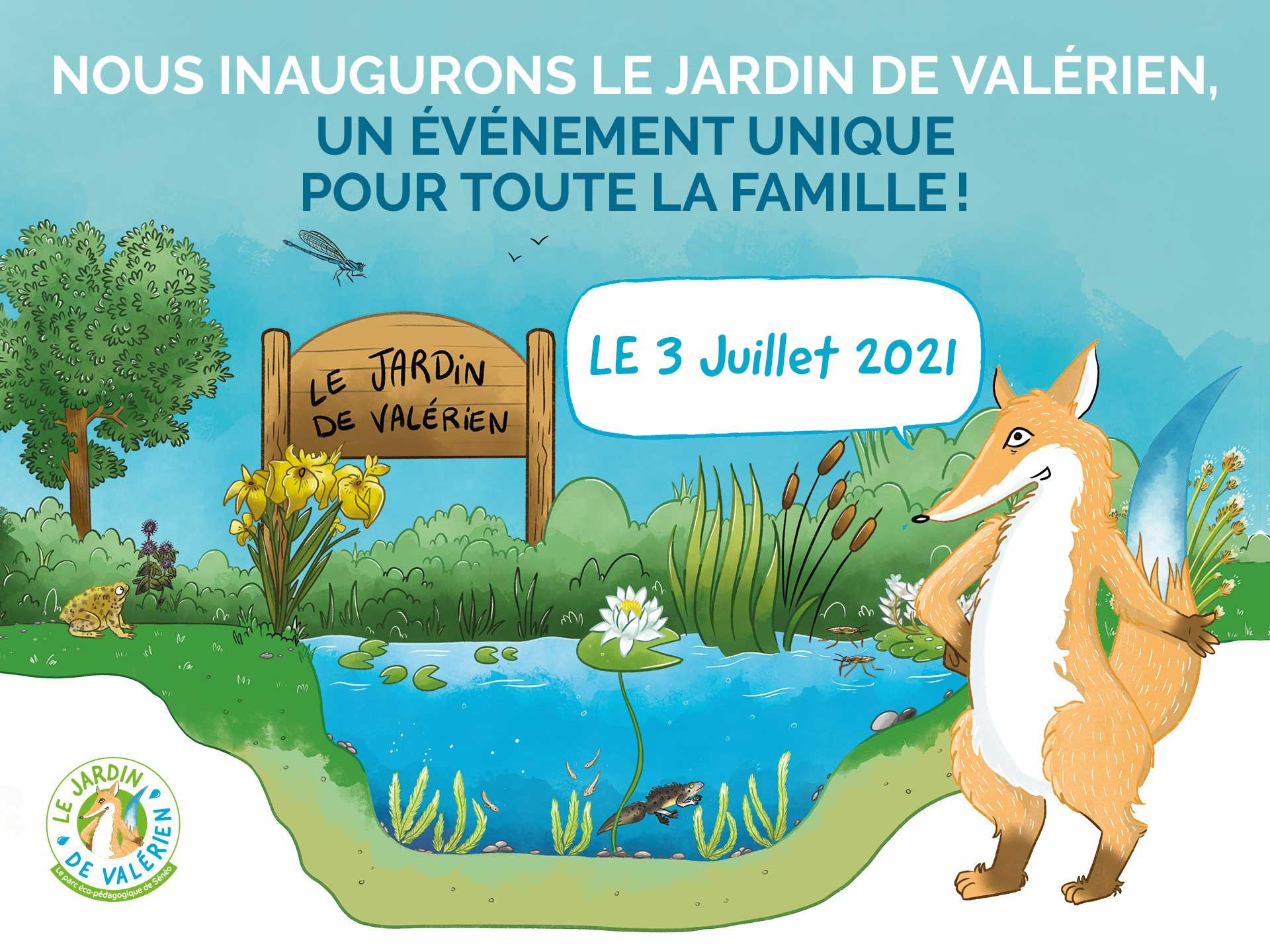 Inauguration du Jardin de Valérien