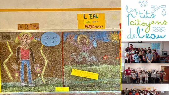 L'opération pédagogique gratuite « Les P'tits Citoyens de l'Eau » fait sa rentrée sur le thème « L'eau et la biodiversité ».